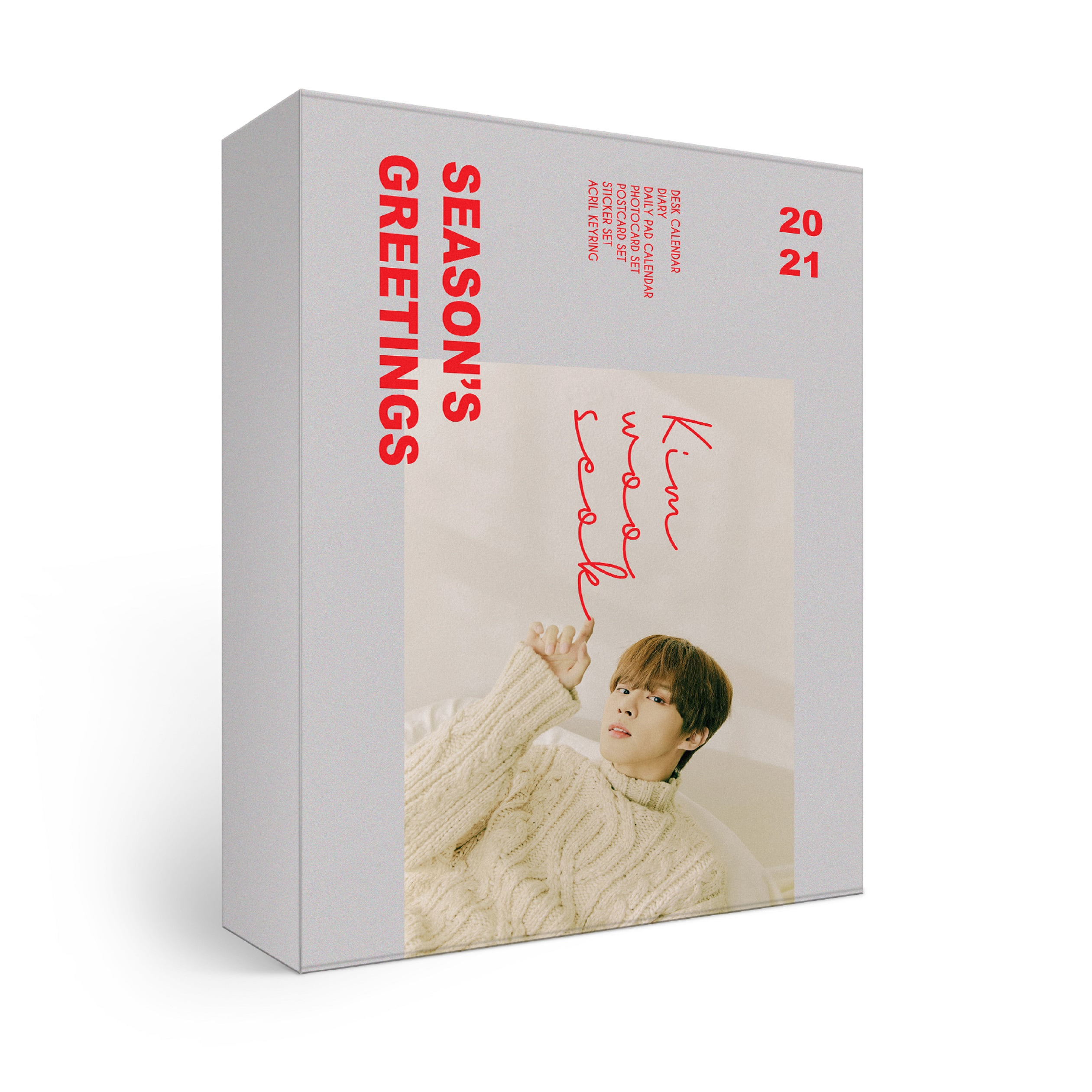 [PRE-ORDER] ★Provides KPOPSTORE Special Gift★ 김우석(KIM WOO SEOK) - 2021 SEASON'S GREETINGS (*No Poster)케이팝스토어(kpop store)