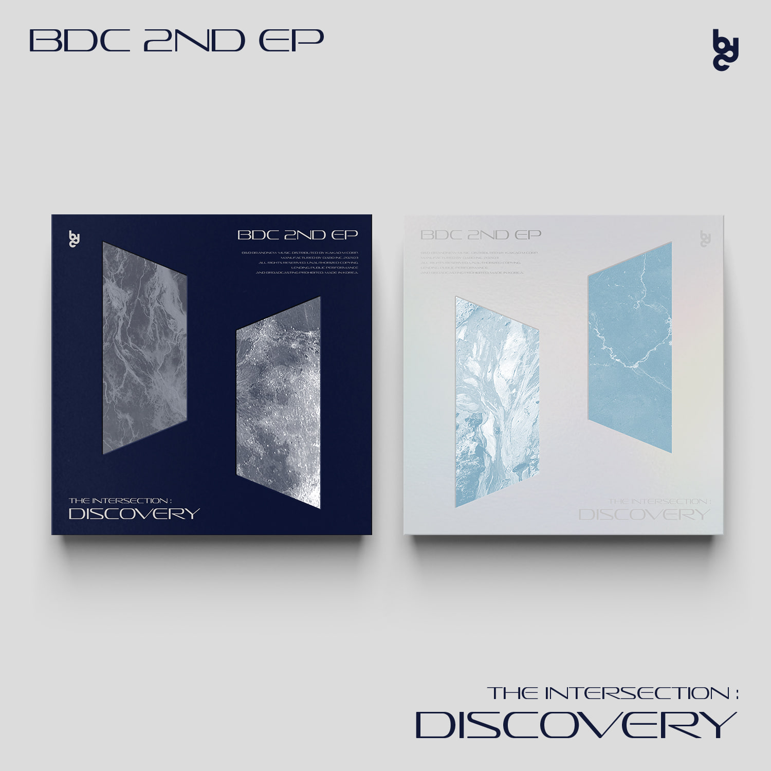 [PRE-ORDER] BDC - EP Album [THE INTERSECTION : DISCOVERY] (2CD SET)케이팝스토어(kpop store)