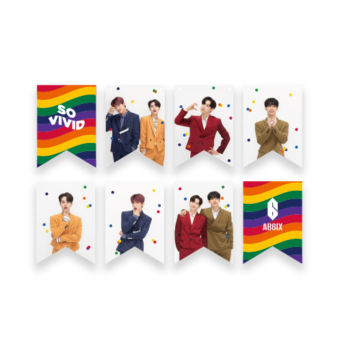 AB6IX - SO VIVID GARLAND케이팝스토어(kpop store)