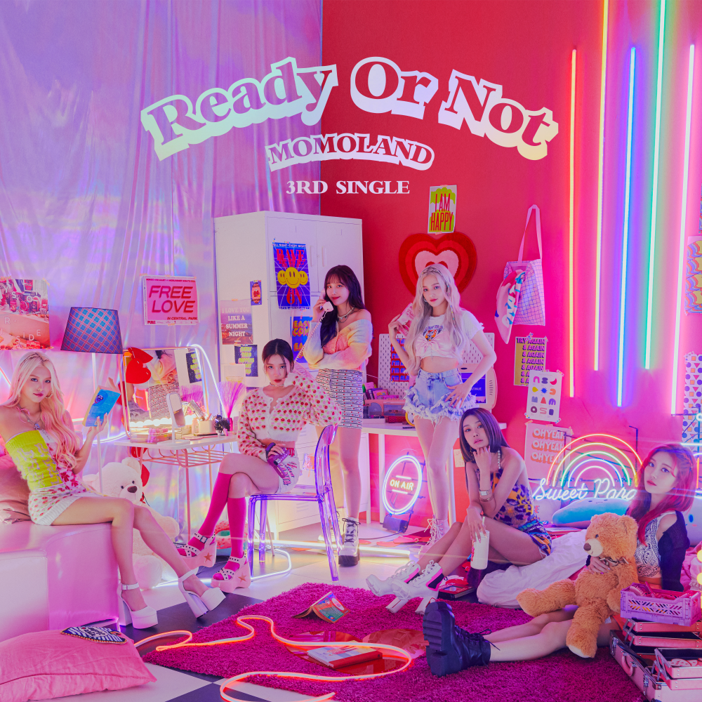 [PRE-ORDER] MOMOLAND - Album [Ready or Not]케이팝스토어(kpop store)