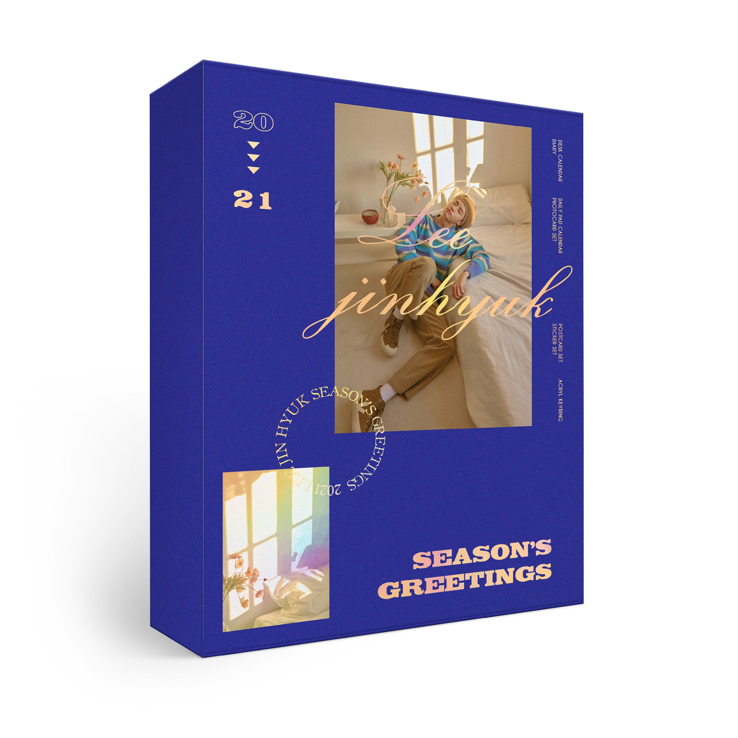 [PRE-ORDER] ★Provides KPOPSTORE Special Gift★ 이진혁 (LEE JIN HYUK) - 2021 SEASON'S GREETINGS (*No Poster)케이팝스토어(kpop store)